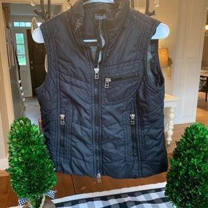 Rafaela black vest/shell! 100% nylon lining! 🖤